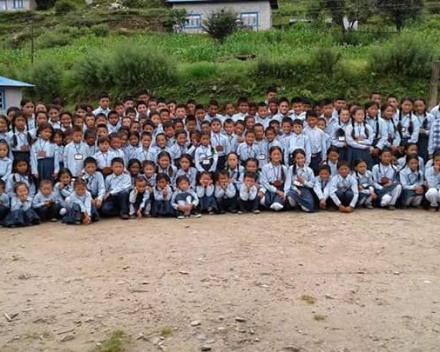 De leerlingen in AngPang zijn klaar voor een nieuw schooljaar