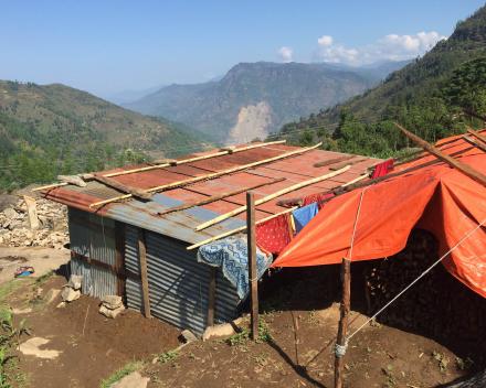 2015 Noodwoningen na de aardbeving