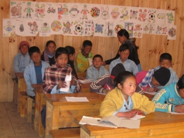 2010 Eerste schooljaar in Ang Pang