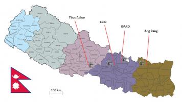 Situering Chautaara projecten